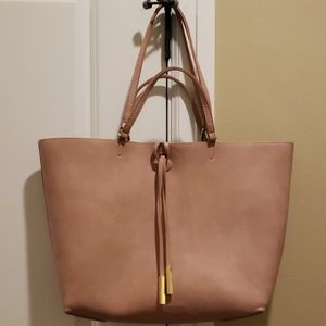 MMS Design Studio large tote with pouch